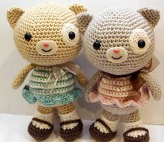 podkins:  Calliope Cat pattern (designed by Little Muggles) available for purchase from AmigurumiPatterns. ...