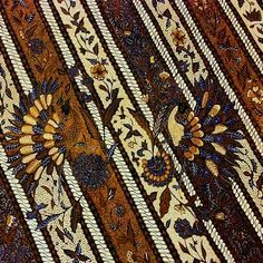 Batik Lawas Sogan - Indonesia