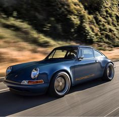 Porsche by Singer Singer 911, Singer Porsche, Porsche 911, Singer Vehicle Design, Automotive Engineering, Vintage Porsche, Car Photography, Hot Cars, Super Cars