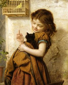 〽️Her Favorite Pets, Sophie Anderson