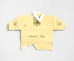 Leo Fitzmaurice, 'Post Match, Canton Bay' 2013, Folded cigarette-packet top.