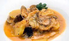Receta de Suquet de pescado y almejas