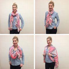 Een sjaal is hét accessoire dat we elk seizoen dragen. In de winter gaan we voor een dik wollen exemplaar, dat we in de zomer graag inwisselen voor een luchtigere variant. Ontdek onze zes favoriete manieren om je sjaal te knopen en geef je outfit een instant upgrade!