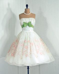 Beautiful Spring Dress I would love to have something to wear this too... prob can't aford it any way if I did
