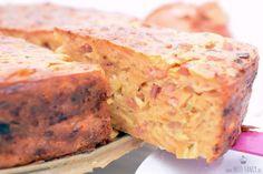 Super leckerer Zwiebelkuchen mit Speck ohne Boden gebacken.