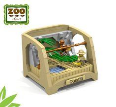 LEGO Ideas - Zoo Collection Lego Zoo, Lego Craft, Lego Games, Legos, Lego Batman, Lego Animals, Lego System, Lego For Kids, Lego
