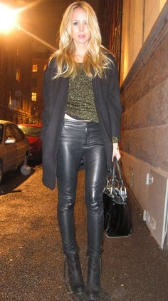 Elin Kling leather pants