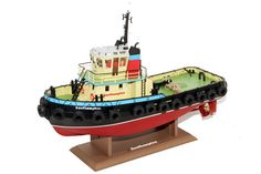"Premium Label RC Radio Control Southampton Tug , The Hobby Engine Southampton Tug Boat is a radio control boat in the Hobby Engine RC Boats range. Scaled down to the smallest detail ""Southampton"" is ."
