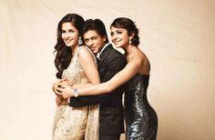 """Katrina, Shah Rukh & Anushka - Premiere """"Jab Tak Hai Jaan"""" (2012)"""
