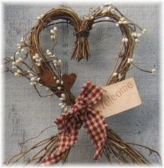 Image result for FALL HEART SHAPED WREATH $35.00