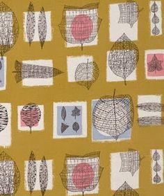 Water Made it Wet: Désirée Lucienne Day 1917 – British textile designer Lucienne Day, Textile Prints, Textile Patterns, Print Patterns, Pattern Art, Art Prints, Vintage Textiles, Vintage Patterns, Celtic