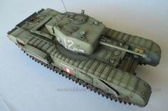 Von Vikken - modellismo statico: Churchill Mk. IV - Photo Gallery #VonVikkenModellismo