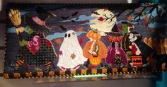 """""""Halloween March"""" (Susan Roberts) needlepoint canvas available here from The Enriched Stitch: http://enrichedstitch.myshopify.com/collections/halloween/products/halloween-march"""