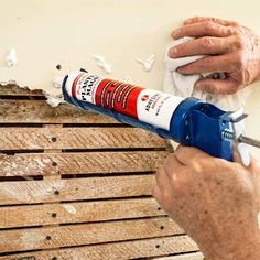 Stabilize the Wall's Edge to repair plaster