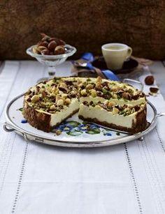 Käse-Nuss-Kuchen
