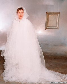 Tulle Ghost costume. No sew! Martha Stewart.com