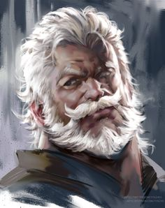 m Wizard or Cleric portrait ArtStation - head doodle, jang ju hyeon Man Character, Fantasy Character Design, Character Concept, Character Inspiration, Fantasy Male, Fantasy Rpg, Medieval Fantasy, Fantasy Portraits, Character Portraits