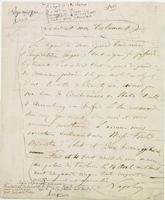 Testament olographe de Napoléon III  ET/LXVIII/1253/RS819 © Archives nationales, France
