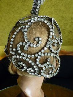 1920s Original Revue Headpiece With Plumes, Head Dress, Antique French Head  Piece, 1920s