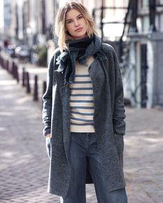 Wrap London - Imogen knitted coat