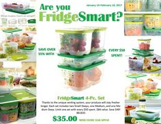 Tupperware FridgeSmart Fruit & Vegetable = Happy & Healthy  I have several sets. they pay for themselves by saving your produce and your money every week. Debra Todd Jordan, Tupperware Consultant 843-222-6544 http://debratoddjordan.my.tupperware.com/  or https://www.facebook.com/Debra-Todd-Jordans-Tupperware-140162522661201/