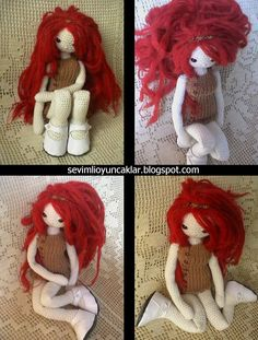 Amigurumi Fall Doll Pattern. $8.00, via Etsy. Thinking I could adapt this to be Marceline the vampire Queen?