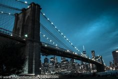 Brooklyn Bridge and the Manhattan Skyline
