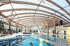Prienavera Erlebnisbad, Prien – Pneumatisches Dach aus ETFE-Folie und ETFE-Pneus - - Temme Obermeier | Experts for Membrane Building