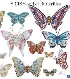 Mosaico Collezioni Cataloghi Interattivi Glass Butterfly Sicis - The Art Mosaic Factory