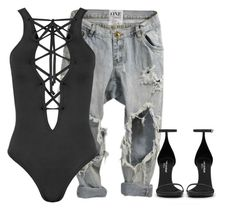 """""""Untitled #91"""" by marinaisaac ❤ liked on Polyvore featuring OneTeaspoon, WearAll and Yves Saint Laurent"""