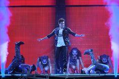 Jorge Blanco en Violetta Live 2015
