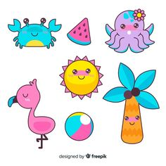 Discover thousands of copyright-free vectors. Graphic resources for personal and commercial use. Thousands of new files uploaded daily. Kawaii 365, Arte Do Kawaii, Art Kawaii, Kawaii Plush, Kawaii Chibi, Kawaii Cute, Stickers Kawaii, Cute Stickers, Japon Illustration
