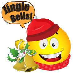 Image from http://1.bp.blogspot.com/-TTLpz74Sc7g/VJUWj5zAJSI/AAAAAAAANss/BycoAFXuYpc/s1600/jingle-bells-smiley.jpg.