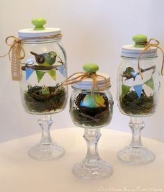 Our Home Away From Home: MASON JAR DIORAMAS