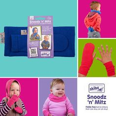 WIN a Snoodz 'n' Mitz in today's Manic Monday give away!