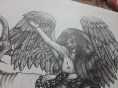 #artgram #art #draw #artwork #artist #instaartwork #illustration #pen #blackandwhite #drawing #artgram #penart #instaart#fineart #penahitam_arts #baphomet #tattoos #design #manual #blackwork #pendrawing #blackworkers #instaartist #inkart#ink  #illustrator #artistic #artditive #angel #handdrawing #bw
