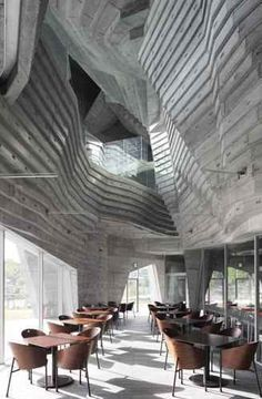 Civic Center and Library in Ofunato, Japan by Chiaki Arai Urban