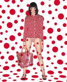 Louis Vuitton Collaborate With Artist Yayoi Kusama