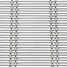 Heavy and robust woven wire mesh suitable for facade cladding. Haver Architectural Mesh.