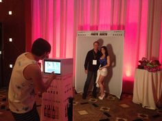 Simply Naked Wines Photo Station at Allied Wine Show in Atlantic City, NJ!