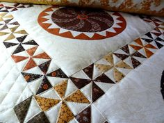 It is always good to finish a project -- a sense of completion warms my heart! My Sarah's Revival quilt is finally finished -- the han...