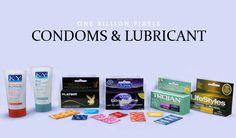 One Billion Pixels: Condoms & Lubricant Clutter