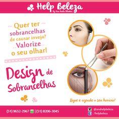 Produzido por: Muriel Bernardes #criatividade #sobrancelhas #arte #murielbernardes #banner #layout #marketing #helpbeleza