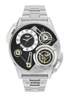 The Special Edition STORM Dualtron is a remarkable timepiece with intricate  multilayer cog detailing. This dual time watch is perfect for travelling  with ... 6e915777818