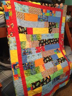 Fun Quilt for Baydon Hooks, my grand-son!