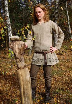 Basic medieval pants - the basic outfit for every poor man and the lord. Good for Viking, Slav or any others.     Trousers are based on the find