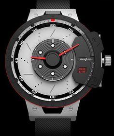 Driving Design: Digital + Analog Auto-Inspired Watch