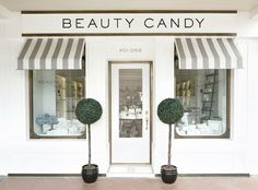 The Beauty Candy Apothecary - Store Identity The Beauty Candy Apothecary - lifestyle concept store identity design. Bravo Company is a Singapore based creative studio founded by Edwin Tan and Janice T Shop Facade, Candy Brands, Design Exterior, Cafe Shop, Shop Fronts, The Design Files, Salon Design, Design Furniture, Cafe Design