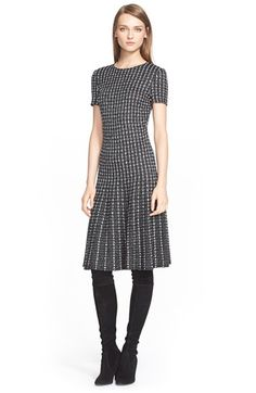St. John Collection Fit & Flare Dress available at #Nordstrom