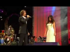 AMAZING performance by Sarah Brightman with Josh Groban @ Concert for Princess Diana in London 2007